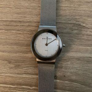 Women's Silver Skagen Watch